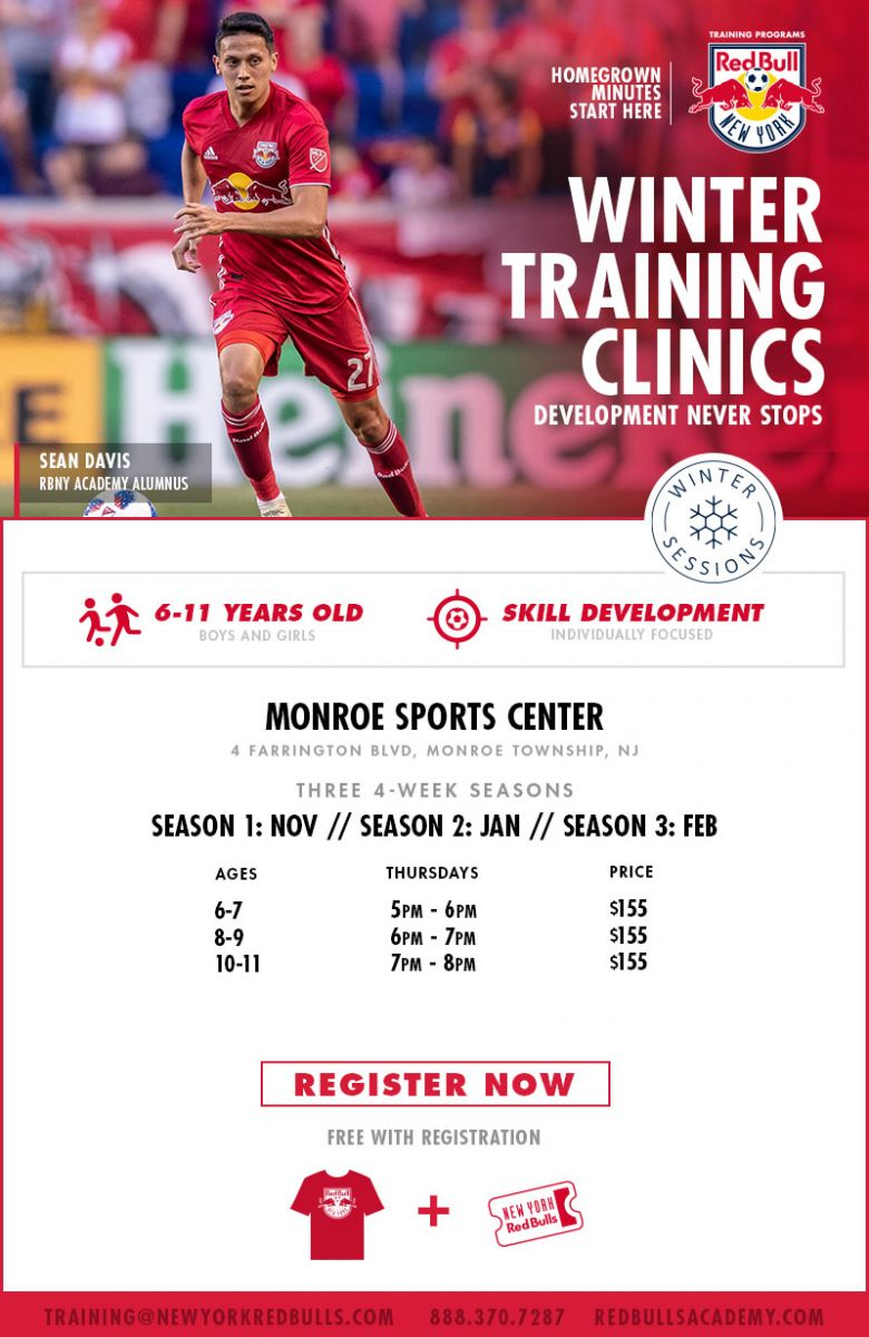competitive price 5578b 66da3 Monroe Sports Center - NY Red Bulls Training at MSC